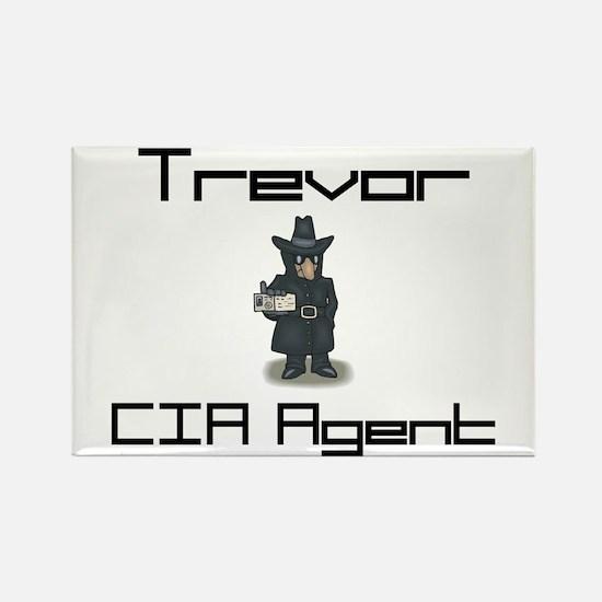Trevor - CIA Agent Rectangle Magnet
