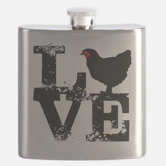 Funny Man Flask