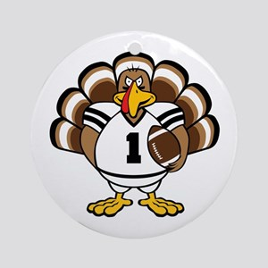 Turkey Bowl Ornament (Round)