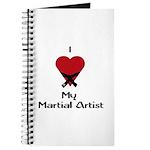 I Love (Heart) My Martial Artist Journal