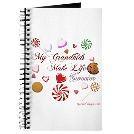 My Grandkids Make Life Sweeter Journal