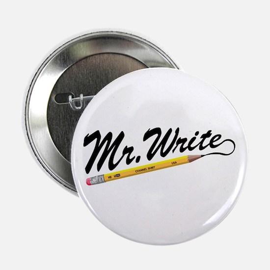 "'Mr. Write' Author's 2.25"" Button"