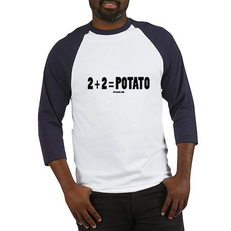 2+2=POTATO Baseball Jersey