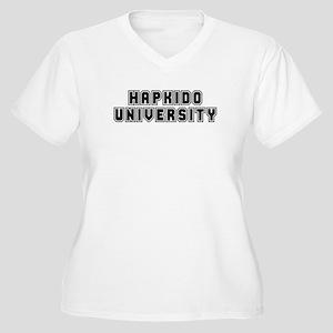 University Women's Plus Size V-Neck T-Shirt