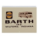 Barth Rv Wall Calendar