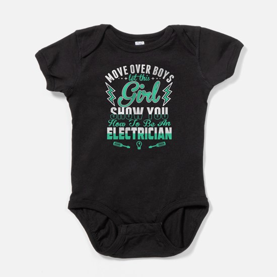 To Be An Electrician T Shirt Body Suit
