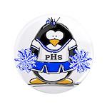 Blue CheerLeader Penguin 3.5