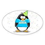 2007 Senior Party Penguin Oval Sticker