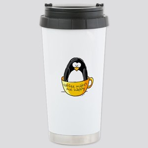 Coffee penguin Stainless Steel Travel Mug