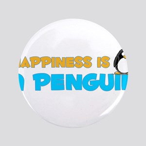 "Penguin Happiness 3.5"" Button"