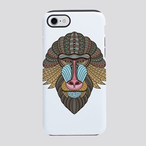 Tribal Baboon iPhone 8/7 Tough Case