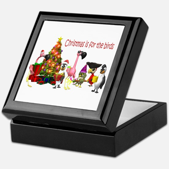 CHRISTMAS IS FOR THE BIRDS Keepsake Box
