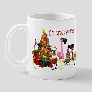 CHRISTMAS IS FOR THE BIRDS Mug