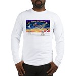 XmasSunrise/Tibet Ter Long Sleeve T-Shirt
