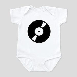 Retro Classic Vinyl Record Infant Bodysuit