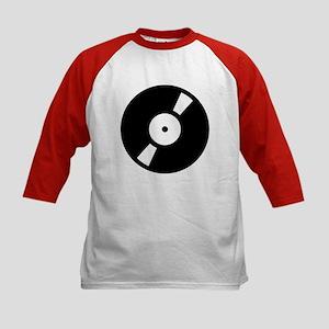 Retro Classic Vinyl Record Kids Baseball Jersey