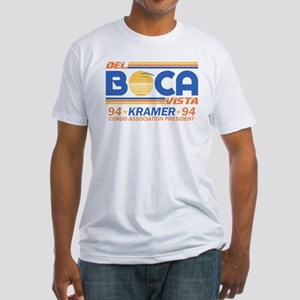 Seinfeld Boca College Humor Fitted T-Shirt