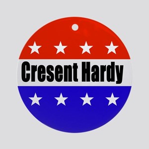 Cresent Hardy Round Ornament
