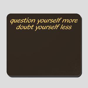 Question & Doubt Mousepad