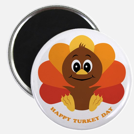 Happy Turkey Day Magnet