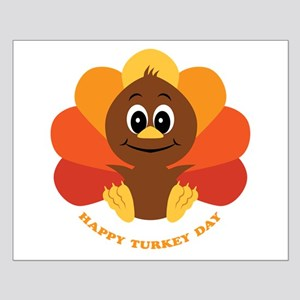 Happy Turkey Day Small Poster