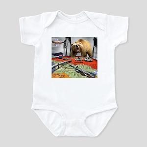 Georgia Vs Russia Infant Bodysuit