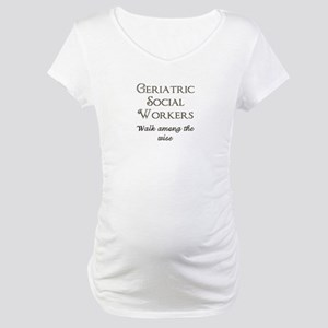 Walking With the Wise Maternity T-Shirt