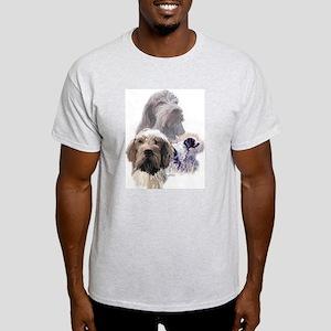 ITALIAN SPINONE GROUP Ash Grey T-Shirt