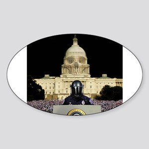 Martial Law Capital Oval Sticker