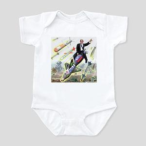 Bush Bombs Infant Bodysuit