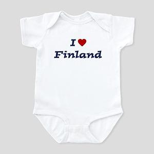 I HEART FINLAND Infant Bodysuit