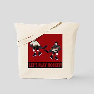 Hockey Boys Tote Bag