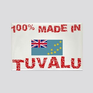 100 Percent Made In Tuvalu Magnets