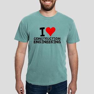 I Love Construction Engineering T-Shirt