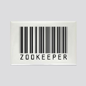 Zookeeper Barcode Rectangle Magnet