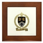 RIVAULT Family Crest Framed Tile