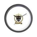 RIVAULT Family Crest Wall Clock