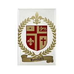 ROBILLARD Family Crest Rectangle Magnet (100 pack)