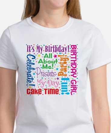 It's My Birthday Women's T-Shirt