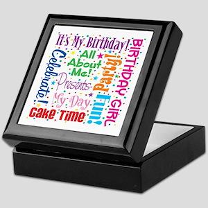 It's My Birthday Keepsake Box