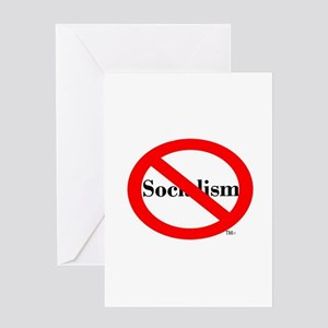 Socialism (Prohibited) Greeting Card