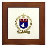 ROBITAILLE Family Crest Framed Tile