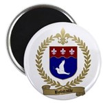 ROBITAILLE Family Crest Magnet