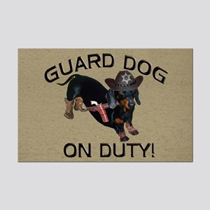 Helaine's Guard Dog Mini Poster Print