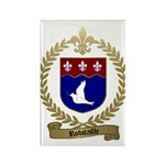 ROBITAILLE Family Crest Rectangle Magnet (100 pack