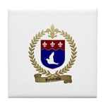 ROBITAILLE Family Crest Tile Coaster