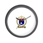ROBITAILLE Family Crest Wall Clock