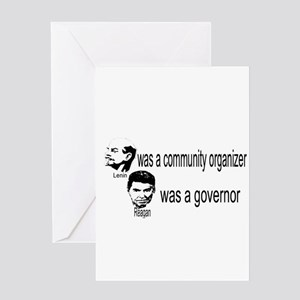 Lenin Community Organizer Greeting Card