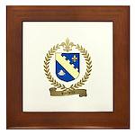 ROCHETTE Family Crest Framed Tile