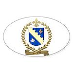 ROCHETTE Family Crest Oval Sticker